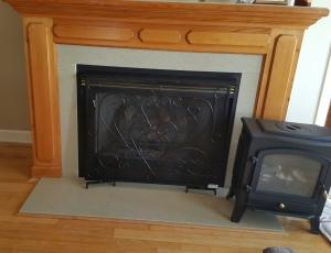 fireplace screen 2