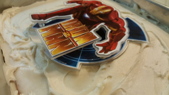 Ironman Cake deco 2