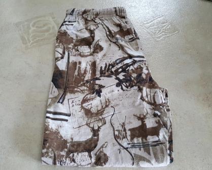Deer flannel pajamas 1
