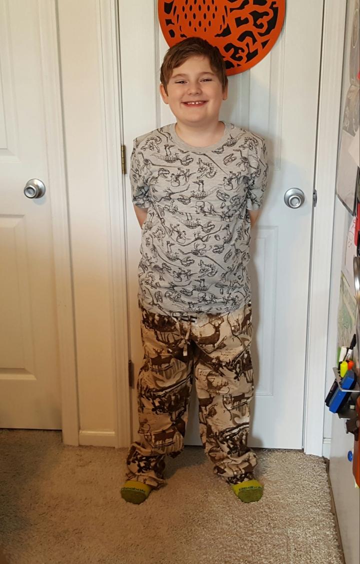 Deer flannel pajamas 9